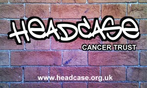 Headcase Logo On Brick